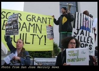 Protest Oscar Grant