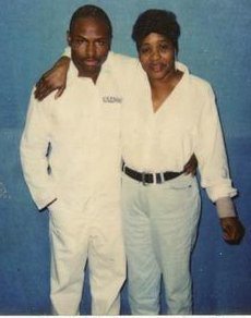 Mr. Maurice Clemmons with his mom Dorothy.