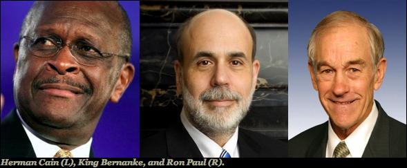 Cain Bernanke Paul